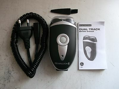 new mens remington cordless rechargeable dual track rotary shaver.