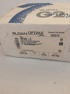 NIB Sloan 3325400 G2 Ress-C G2 Toilets Optima Plus Flushometer Retrofit Kit