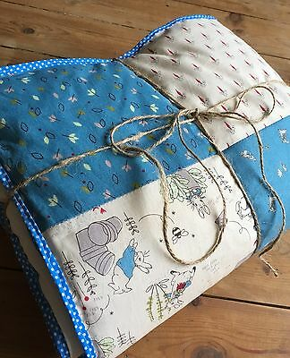 Peter Rabbit Patchwork Cot Quilt