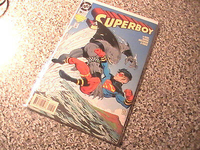 Superboy # 9   1St King Shark   Dc Comics