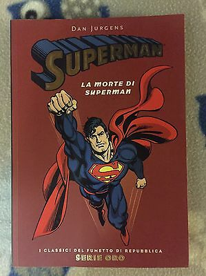 Fumetto Volume Completo La Morte Di Superman Edito Da Repubblica