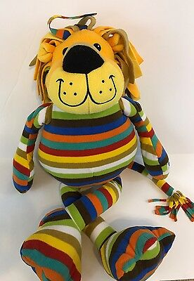 "Beeposh Melissa & Doug 26"" Elvis Lion Stuffed Animal Plush Striped Large"