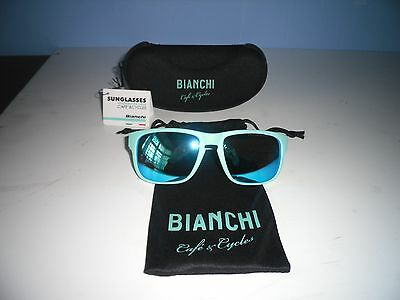 BIANCHI CAFE and CYCLE FREETIME SUNGLASSES  Celeste
