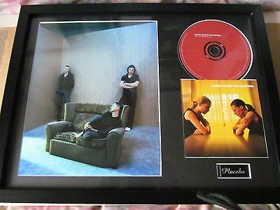 "Placebo - Without You I'm Nothing - Framed CD Album + Photograph - 16"" x 12"""