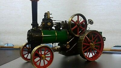 """Live Steam Traction Engine 1"""" scale"""