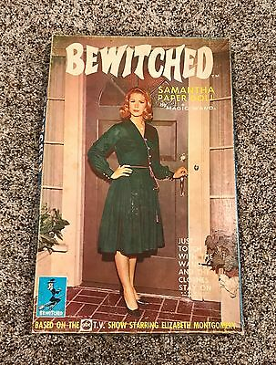 Original 1965 Bewitched Magic Wand Samantha Paper Doll TV Game Set Nice!