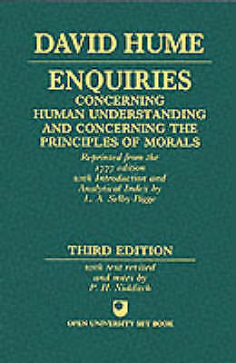 Enquiries Concerning Human Understanding and Concerning the Principles of...