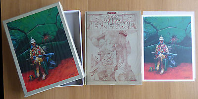 Moebius Le Garage hermétique Major Fatal Tirage de luxe grand format 300 ex n°