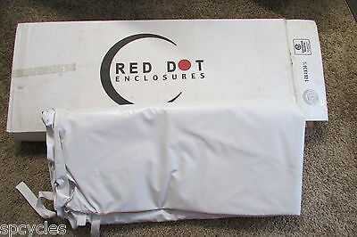Red Dot NVE5ST3503SVSBW Ultimate Straight Back E-Z-GO ST350 Enclosure