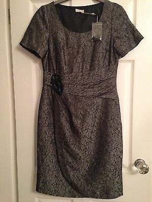 BNWT Country Casuals Silver/grey Dress Size 12