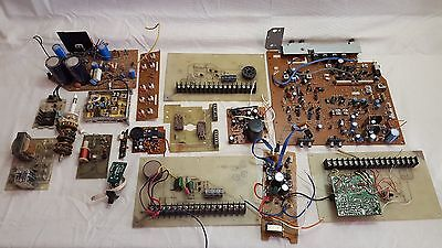 Lot Of 17 Scrap Circuit Board Type Items Out Of Computers Etc !!!