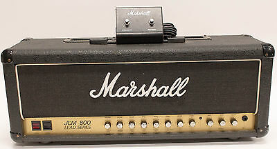 Marshall JCM800 2210 Guitar Amplifier 100 Watt Tube Head with Footswitch