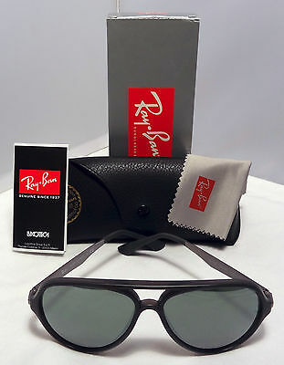 5c56fc44d14 Genuine Ray-Ban Active Aviator Sunglasses Rb4235 618740 57Mm Silver Mirror  Lens