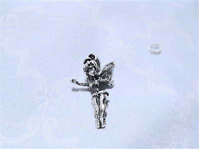 CUTE! 50s-60s ster Vtg CHARM: 3D EARLY curvy Tinker Bell TINKERBELL Disney WDP