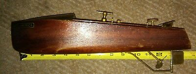 "1920's Mengel Wooden Boat,"" Miss America"" , 15"" long Louisville KY works! No box"