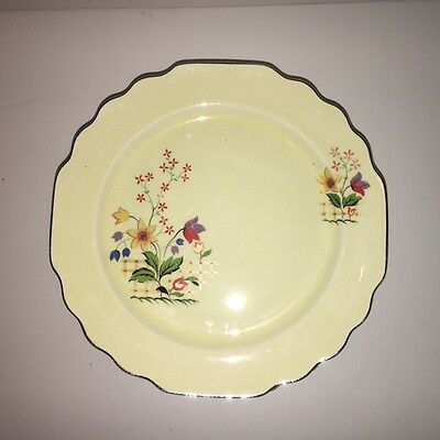 W. S. GEORGE Canarytone LIDO 190A Dinner Plate