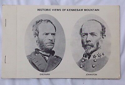 The American Civil War Historic Views Of Kennesaw Mountain Postcards