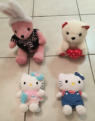 Lot Peluches Fille