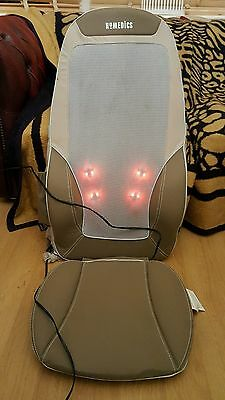 HoMedics Shiatsu Max Back Shoulder Thigh Massage Chair CBS 1000 Massager