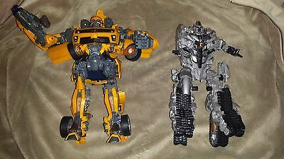 Transformers - Bumble Bee Battle Ops & Megatron Leader Class ROTF Figures