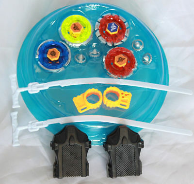 4D Metal Fusion Beyblade Battle Clash Tornado Speed Set With Stadium US Seller