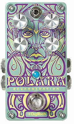 DigiTech Polara Lexicon Stereo Reverb Guitar Effects Pedal! Reverberation!