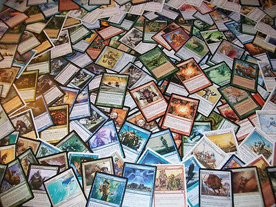 Lote 120 cartas de Magic MTG - 20 infrecuentes 100 comunes