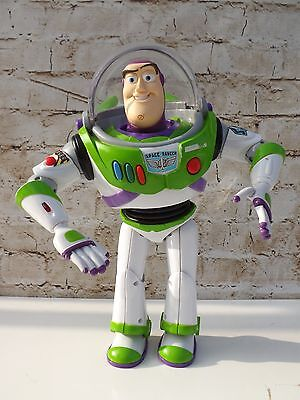 "Full Size 12"" Toy Story Buzz Lightyear Spanish Talking Figure Laser Arm"