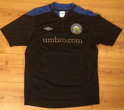 Rare Vintage Linfield Anniversary Away Football Shirt Jersey Umbro 2011 Rangers