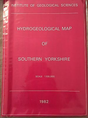 Inst. Geological Sciences HYDROGEOLOGICAL MAP OF SOUTHERN YORKSHIRE