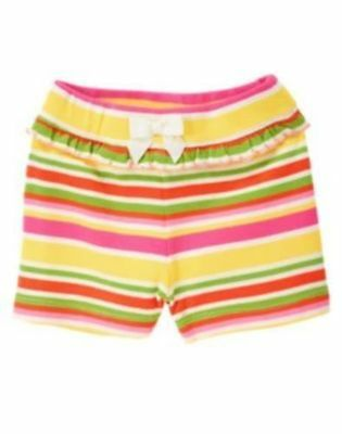 Gymboree Strawberry Sweetheart Shorts Gr. 3-6 Monaten 62 68 NEU