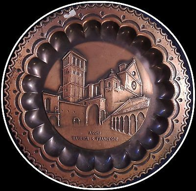 Assisi Basilica S. Francesco Decorative Plate