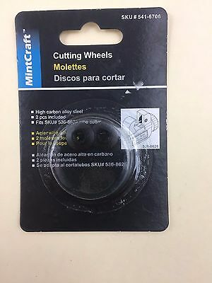 MINTCRAFT 541-6706 Replacement Cutter Wheel for 536-8626 Tube Cutter New