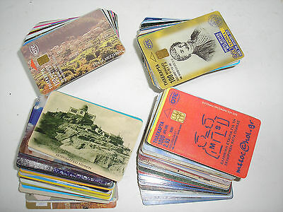 Greek Telecards (phone cards from Greece) 203 items