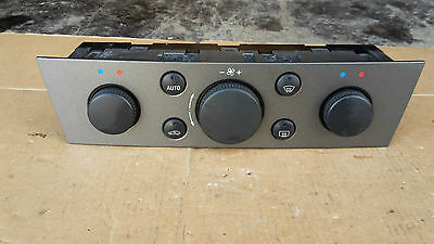 Vauxhall Vectra C Signum Climate Heater Control AC 13138196 Air con unit