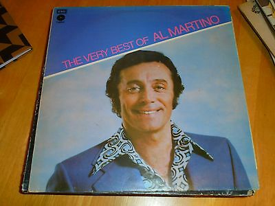 LP/ AL MARTINO /THE VERY BEST OF ...( 1970s UK CAPITOL