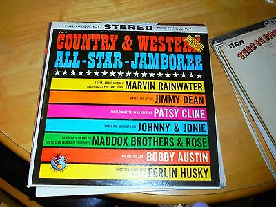 LP/COUNTRY AND WESTERN ALL STAR JAMBOREE /ORIG RECORDINGS (1960s USA INTERNATION
