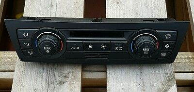 Genuine bmw automatic air conditioning control unit