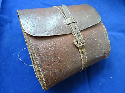 A Large Victorian C Farlow 191 The Strand Fishing Cast/fly Wallet + Gut Casts