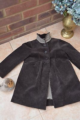 * Chic 100% Authentic 100% Cotton Corduroy Coat from French BONPOINT, £235! *