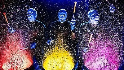 Blue Man Group Front Row Tickets Las Vegas 3/3/2017