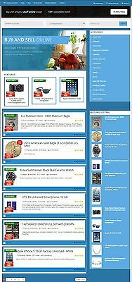 CLASSIFIED ADS WEBSITE BUSINESS and DOMAIN FOR SALE! ESTABLISHED WITH LISTINGS