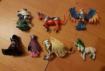 Ubisoft Clash of Heroes Figure lot collection
