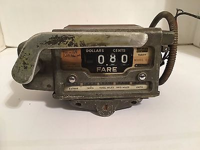 Vintage-Argo-Taxi-Cab-Meter-Made-In-West-Germany Model T-12