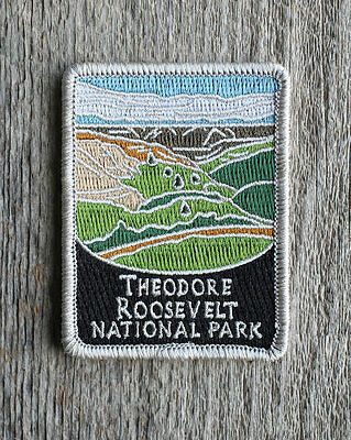Theodore Roosevelt National Park Souvenir Patch Traveler Series North Dakota