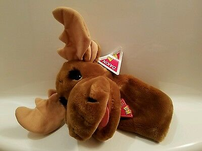 Vintage Dakin Moose Hand Puppet Hucklebetty NEW w/Tags
