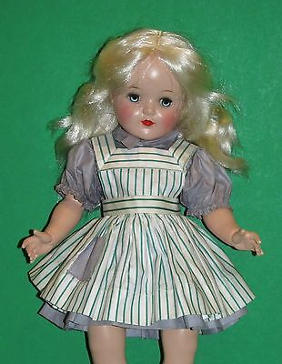 1950s Harriet Hubbard Ayer Green Stripe Pinafore Oft 4 P92 size Crisp Never Used