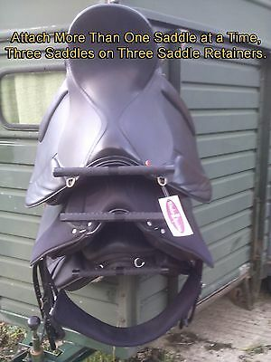 The Saddle Retainer Rack Stool Tack Room