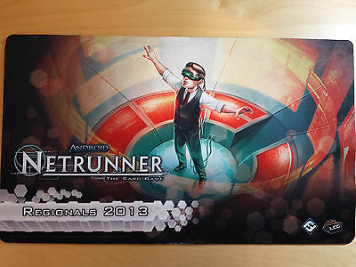 Android Netrunner LCG Promo Playmats (Various)