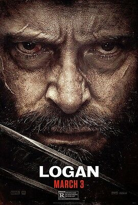 LOGAN (2017) One Sheet Theatrical Poster D/S 27x40 Authentic light Edge Wear